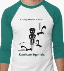Cycling Hazards - Kamikaze Squirrels T-Shirt