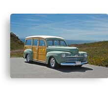 1947 Ford Woody Wagon II Canvas Print