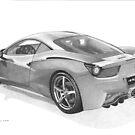 Ferrari 458 Italia by Steve Pearcy