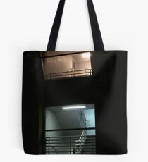 Upstairs Downstairs Tote Bag