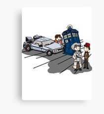 Doctor Meets Doctor Canvas Print