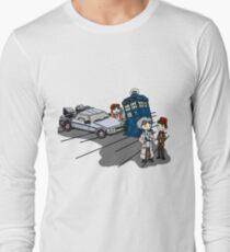 Camiseta de manga larga El doctor se encuentra con el doctor