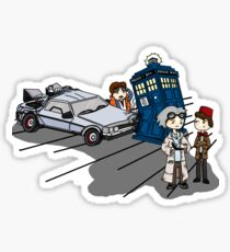 Doctor Meets Doctor Sticker