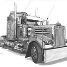 Kenworth W900 by Steve Pearcy