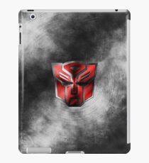 Autobot Symbol - Damaged Metal 1 iPad Case/Skin