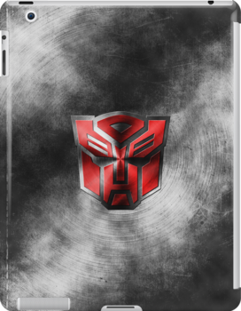 Autobot Symbol - Damaged Metal 1 by Jeffery Borchert