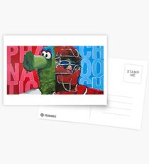 Phanatic and Chooch Diptych Painting Postcards