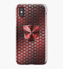 Autobot Symbol - Damaged Metal 4 iPhone Case/Skin