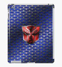 Autobot Symbol - Damaged Metal 6 iPad Case/Skin