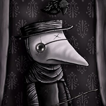 The Plague Doctor by mikebombon