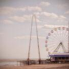 Funtown Pier by Debra Fedchin