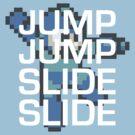 Mega Man: Jump Jump Slide Slide by Liam Hole