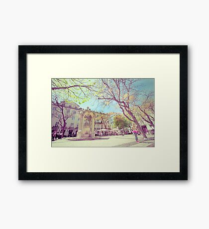 largo do carmo Framed Print