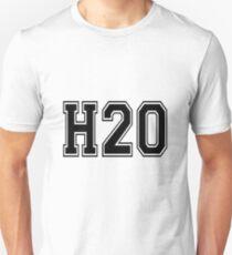 H2O [Varsity Font] Unisex T-Shirt
