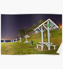 """""""Evening At The Picnic Ground"""" Poster"""