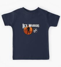 Ice Warriors - Martian Hockey League Kids Tee