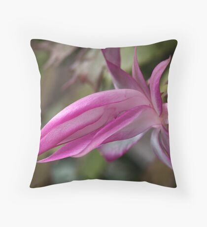 Zygocactus Throw Pillow