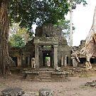 Ancient ruins in Seim Reap by sarcalder