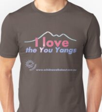 I love the You Yangs - dark background 2 Unisex T-Shirt