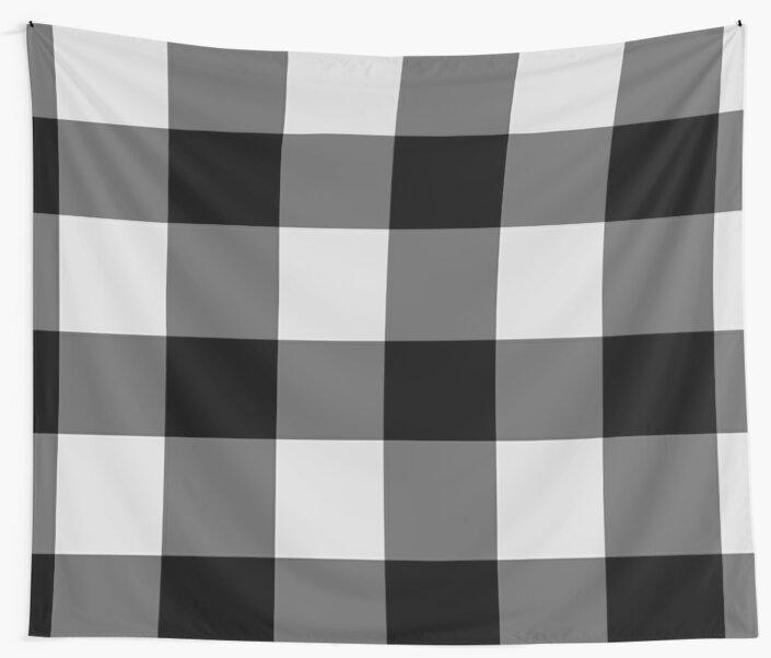 Black & White Flannel by LightfulFoxtrot
