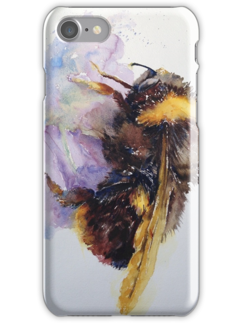 Mr Bubmble IPhone Case by Karl Fletcher