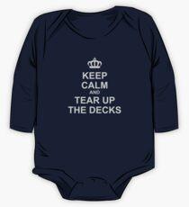 Keep Calm And Tear Up The Decks Kids Clothes