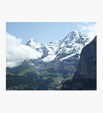Snowy Eiger Photographic Print