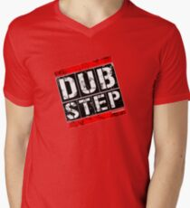 Dubstep Graffiti Mens V-Neck T-Shirt
