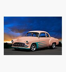 1951 Chevrolet Coupe Photographic Print
