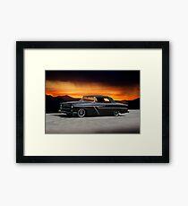 1955 Plymouth Custom Convertible Framed Print