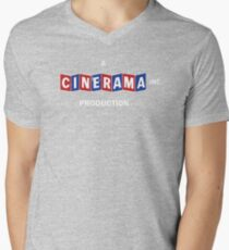 A CINERAMA PRODUCTION! Men's V-Neck T-Shirt