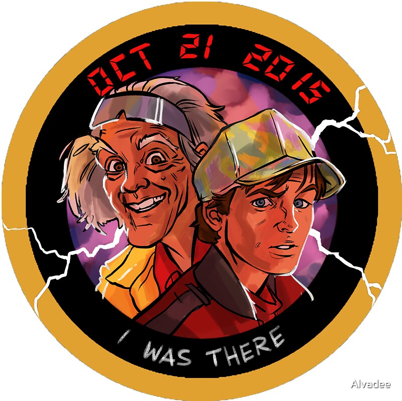 Back to the future 2015 by alvadee
