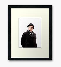 Carson Downton Abbey Framed Print