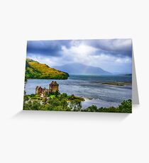 Eilean Donan Loch Duich Greeting Card