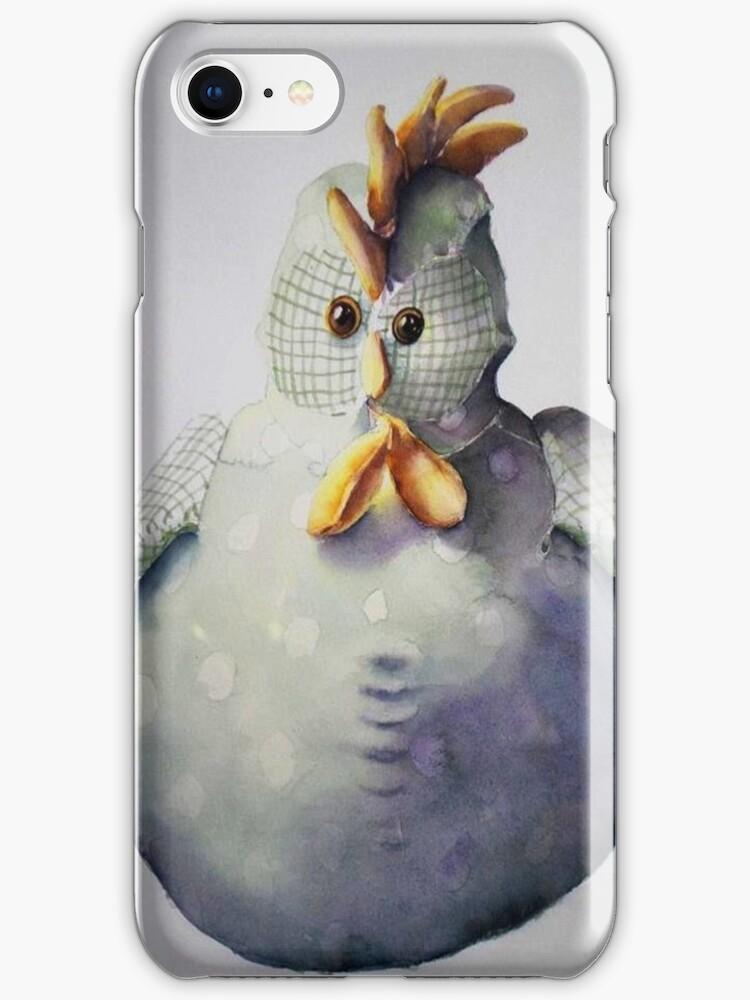 Mr Doorstop iPhone & iPod cover by Karl Fletcher
