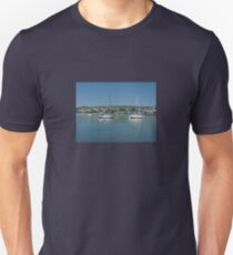 Yachts in Teignmouth  Harbour T-Shirt