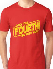 May The Fourth Be With You Unisex T-Shirt