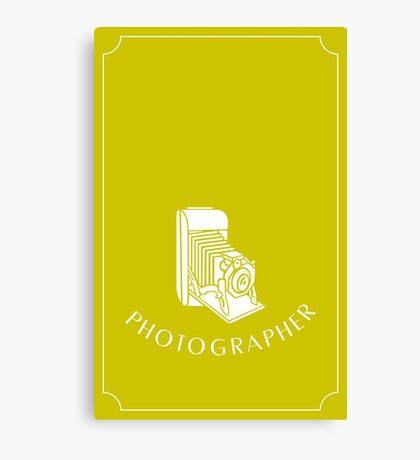 Photographer VRS2 Canvas Print
