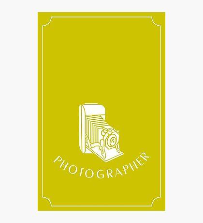 Photographer VRS2 Photographic Print