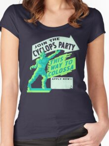 Cyclops Party Women's Fitted Scoop T-Shirt