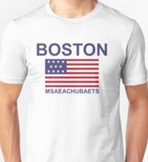 BOSTON MSAEACHUBAETS Unisex T-Shirt