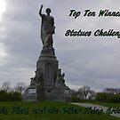 Top Ten - statues by quiltmaker