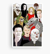 Buffy Big Bad Poster Canvas Print
