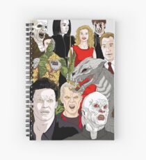Buffy Big Bad Poster Spiral Notebook