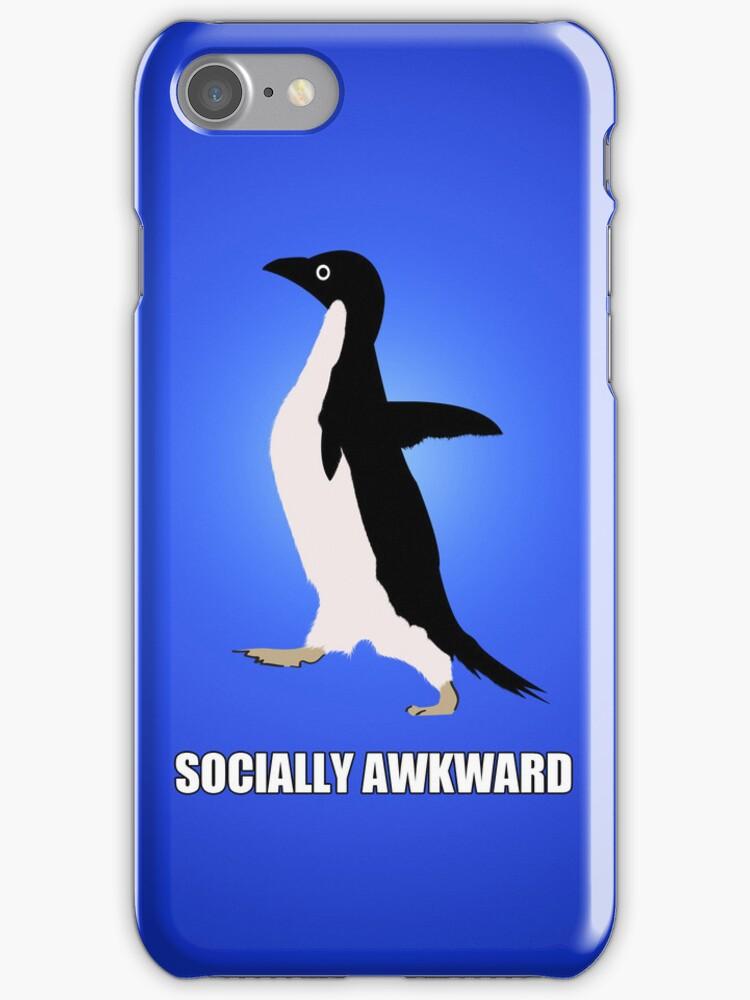 Socially Awkward Tee by Megan Noble