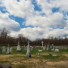 The grave yard in color by Penny Fawver