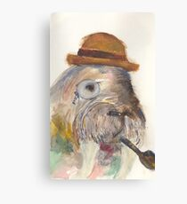Manly Walrus  Canvas Print