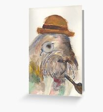 Manly Walrus  Greeting Card