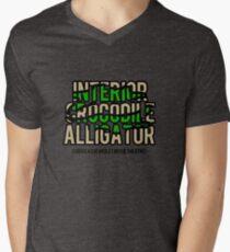 Interior Crocodile Alligator Menu0027s V Neck T Shirt
