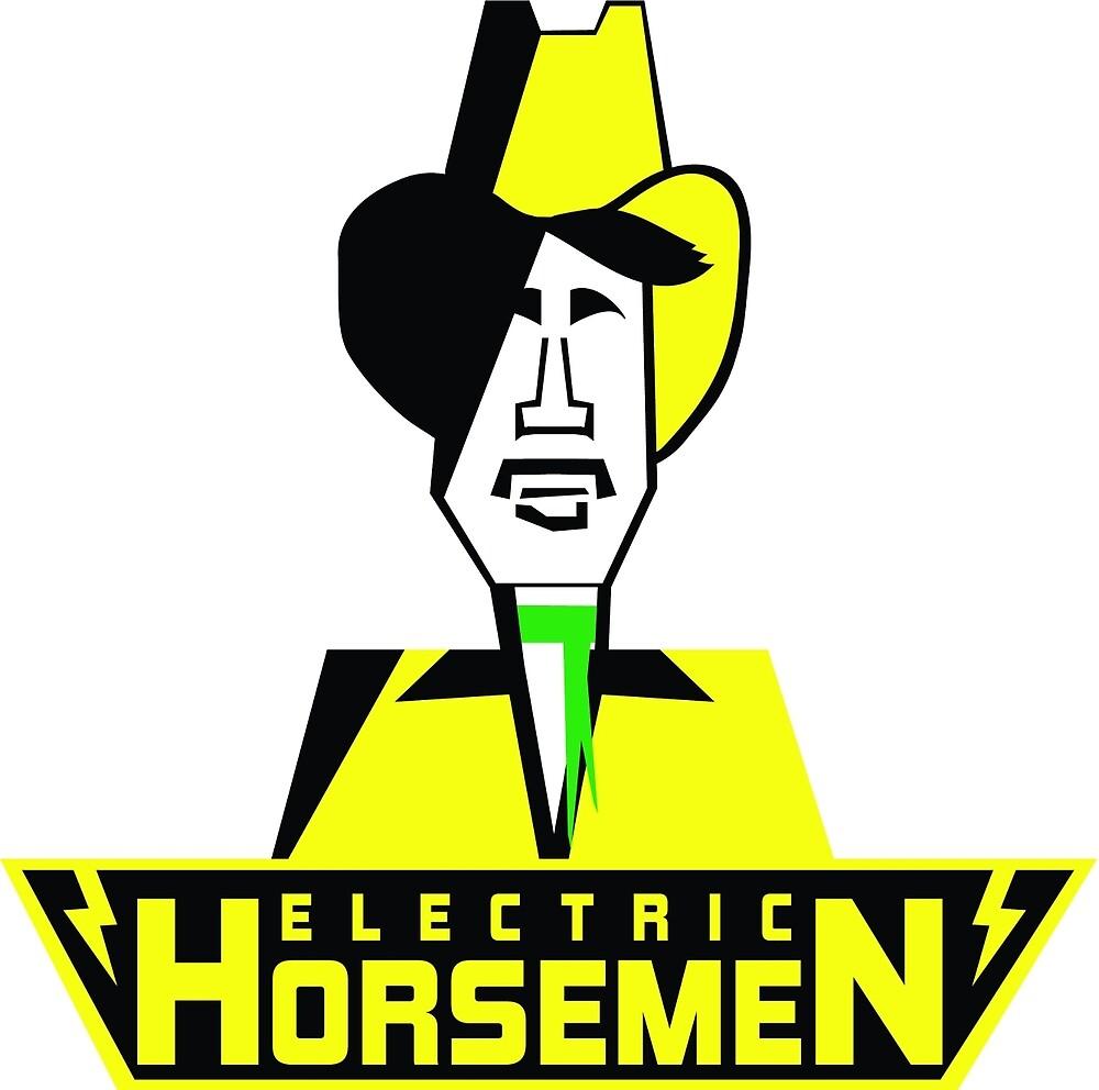 Electric Horsemen (Vintage 1) by wesg1261